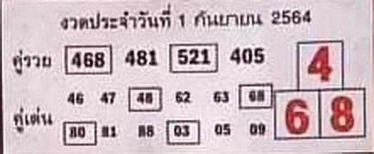 หวยซอง หวยบอกลาภ-010964