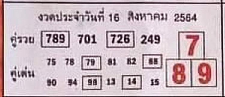หวยซอง หวยบอกลาภ-160864