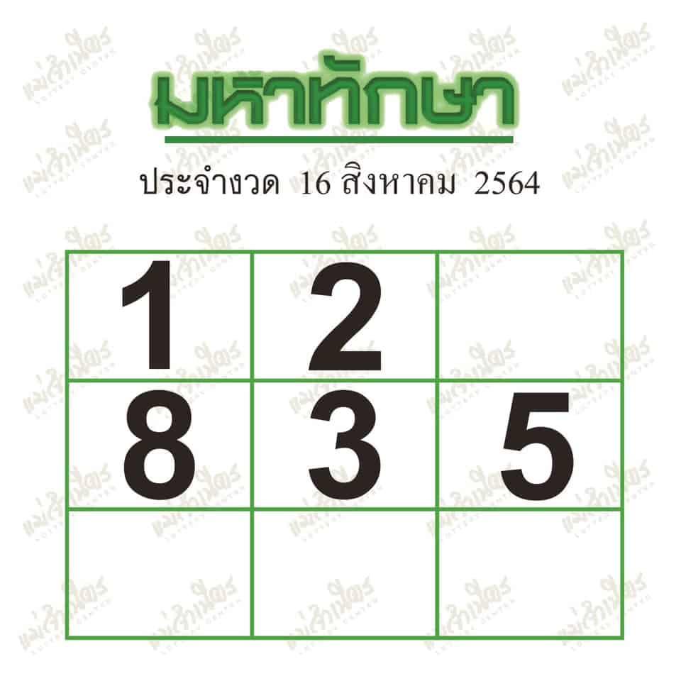 หวยซอง หวยมหาทักษา-160864